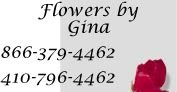 Flowers By Gina: 6325 Washington Blvd, Elkridge, MD
