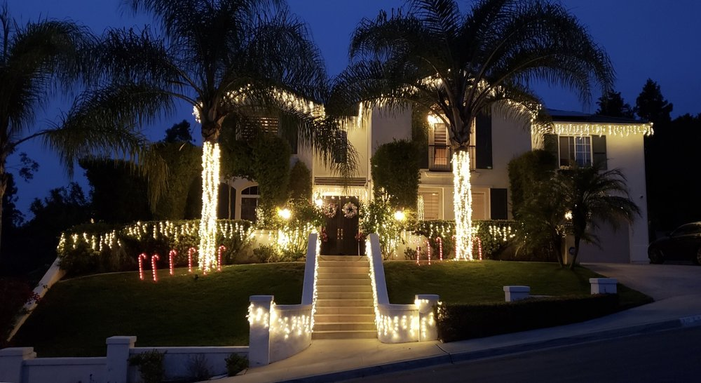 Photo of San Diego Sparkely Christmas Light Installation: San Diego, CA