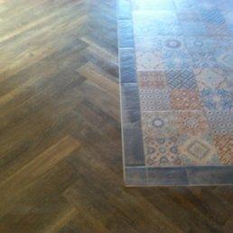 Photo Of Elite Flooring Concepts   Corona, CA, United States. Mosaic Tile  Inset