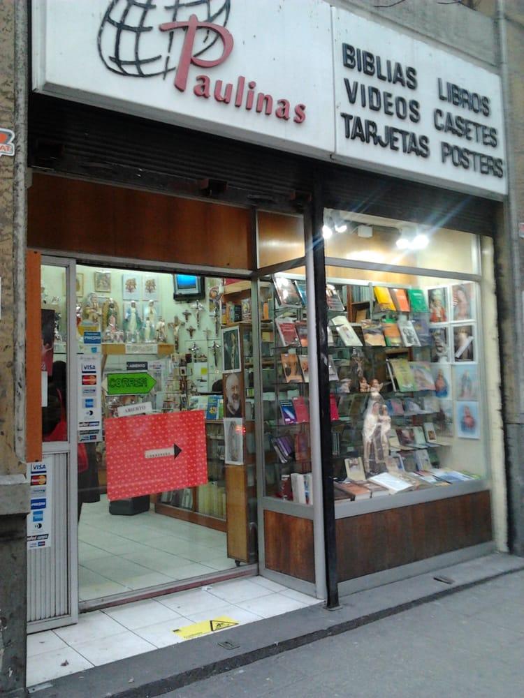 Librer as paulinas bookshops santo domingo 951 santiago centro rm santiago chile phone - Libreria couceiro santiago ...