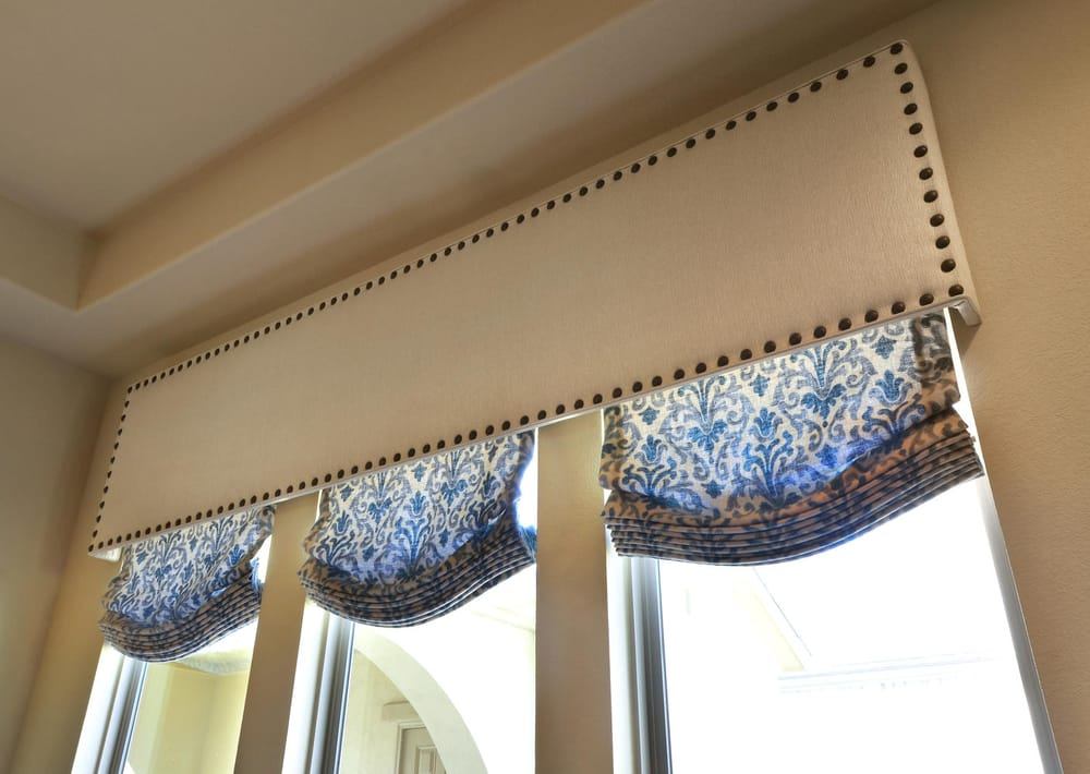 Cornice Board With Roman Shades Yelp