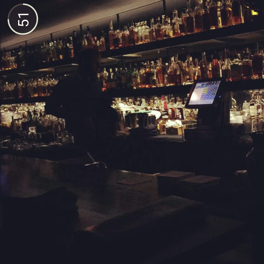 A Section Of The Bar And Liquor Choice Yelp
