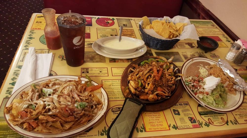 El Acapulco Mexican Restaurant: 2518 Harrison St, Batesville, AR