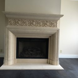 Elegant fireplace mantels