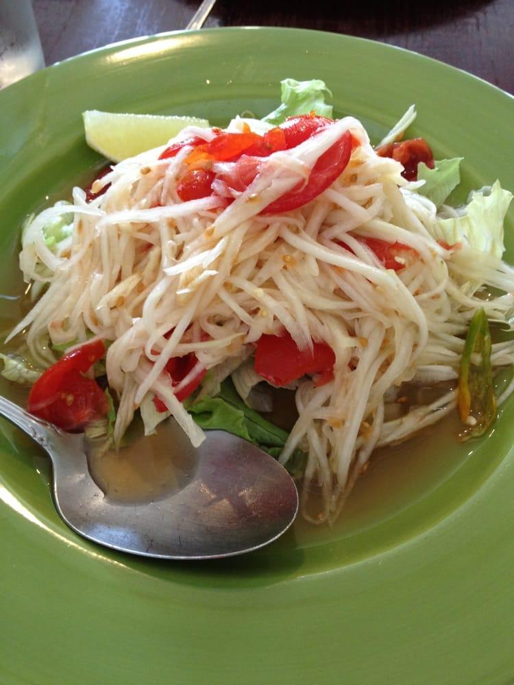 Papaya salad yelp for At siam thai cuisine