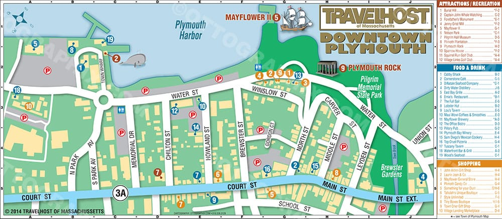 Plymouth MA Downtown Tourist Map Yelp – Tourist Map San Diego