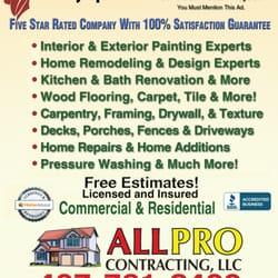 Allpro Contracting 13 Photos Contractors 509 S