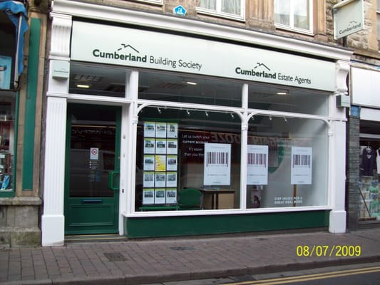 Ulverston United Kingdom  city photos : ... of Cumberland Building Society Ulverston, Cumbria, United Kingdom
