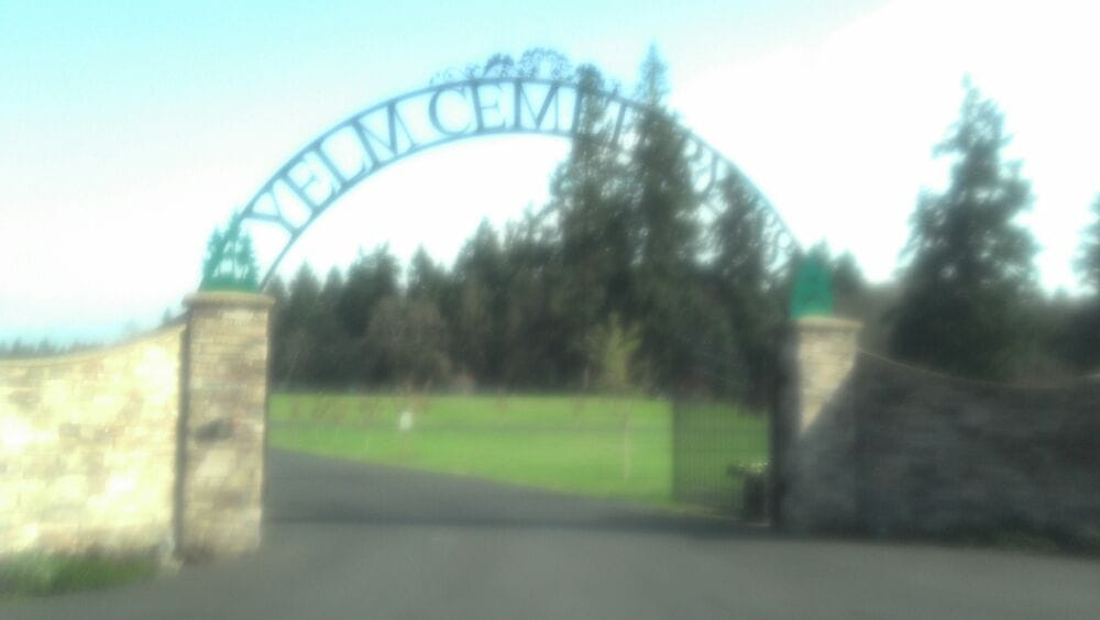 Yelm Cemetery: 11540 Cemetary Rd SE, Yelm, WA