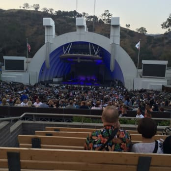Our Seats In Section G2 At The Hollywood Bowl Just Before