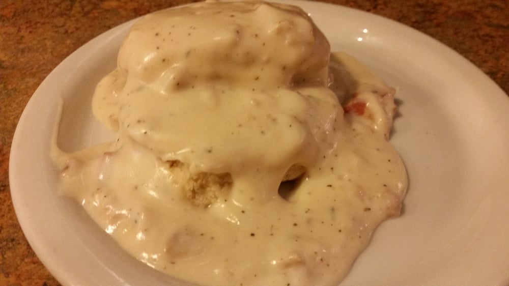 Photo of Ed's Place - Glendora, CA, United States. Biscuits & gravy
