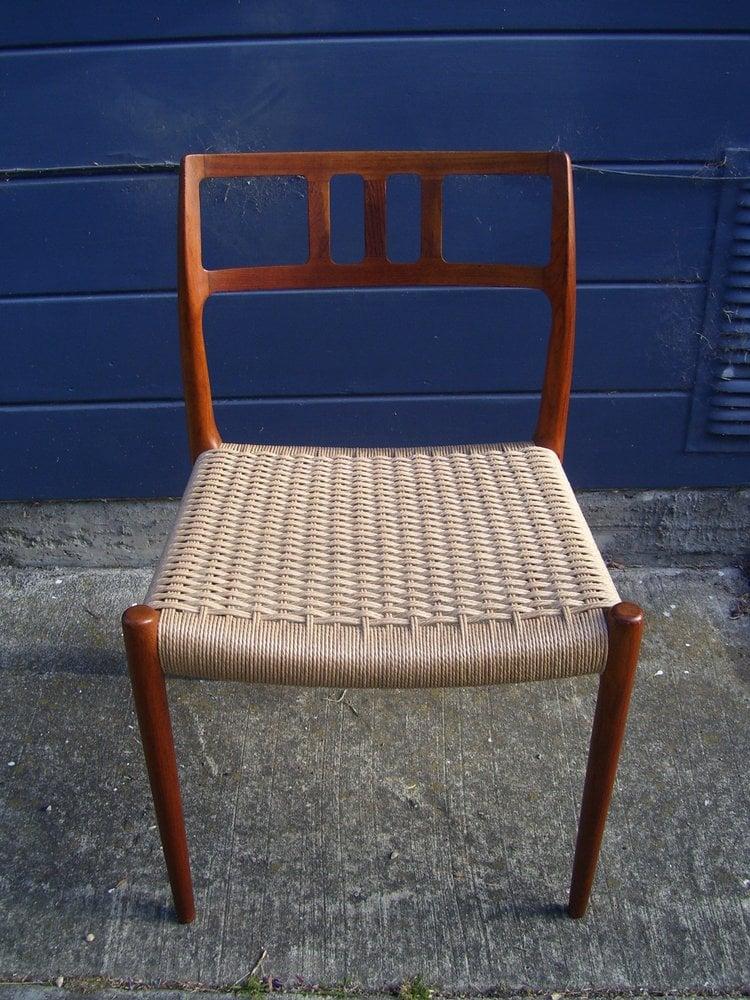 Hans wegner danish modern chair seat rewoven yelp for Jardin wicker