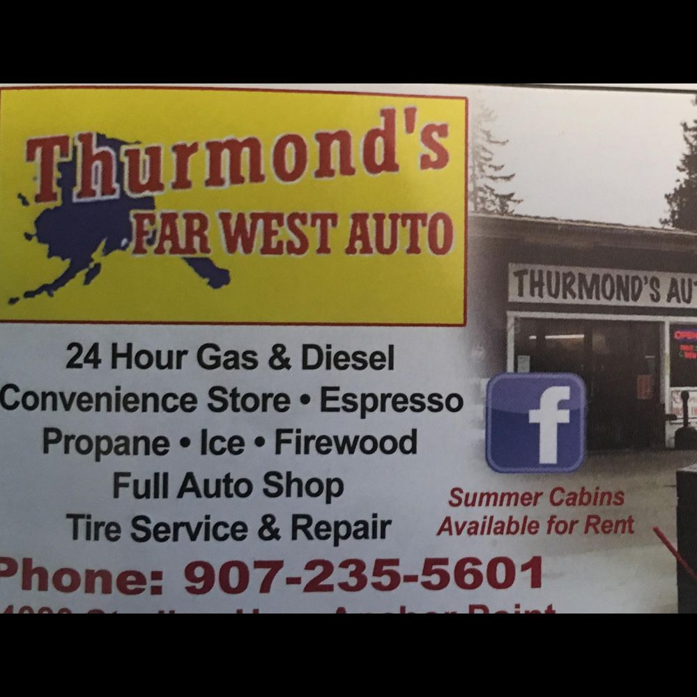 Thurmond's Far West Auto: 34080 Sterling Hwy, Anchor Point, AK