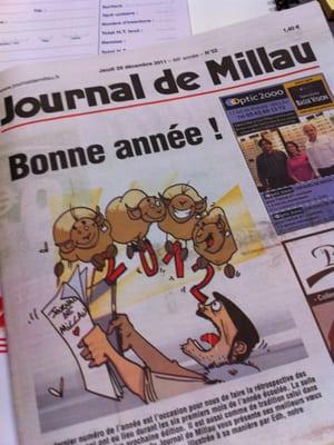 Journal De Millau Centre D 39 Amincissement 8 Place Du