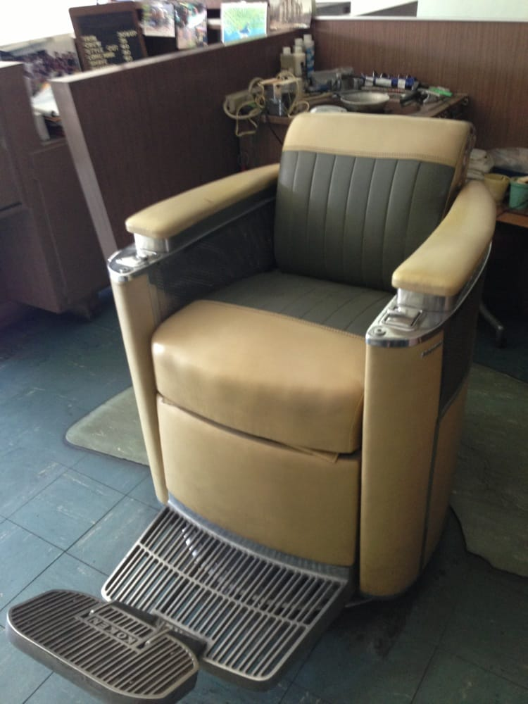 old school barber chair yelp