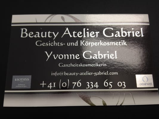 beauty atelier gabriel geschlossen day spa rischstrasse 71 frenkendorf basel landschaft. Black Bedroom Furniture Sets. Home Design Ideas
