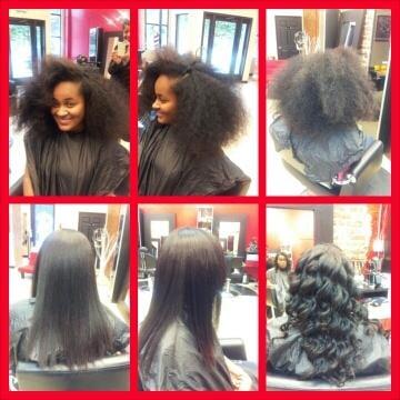 Silk Press Natural Hair Nyc
