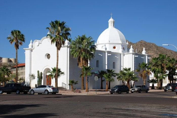Immaculate Conception Catholic Church: 101 W Rocalla Ave, Ajo, AZ