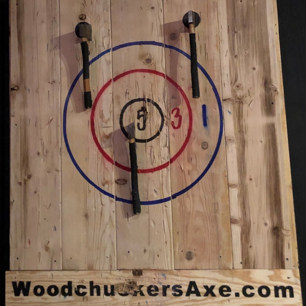 Woodchuckers Axe Throwing: 10125 Mulaney Rd, Marcy, NY