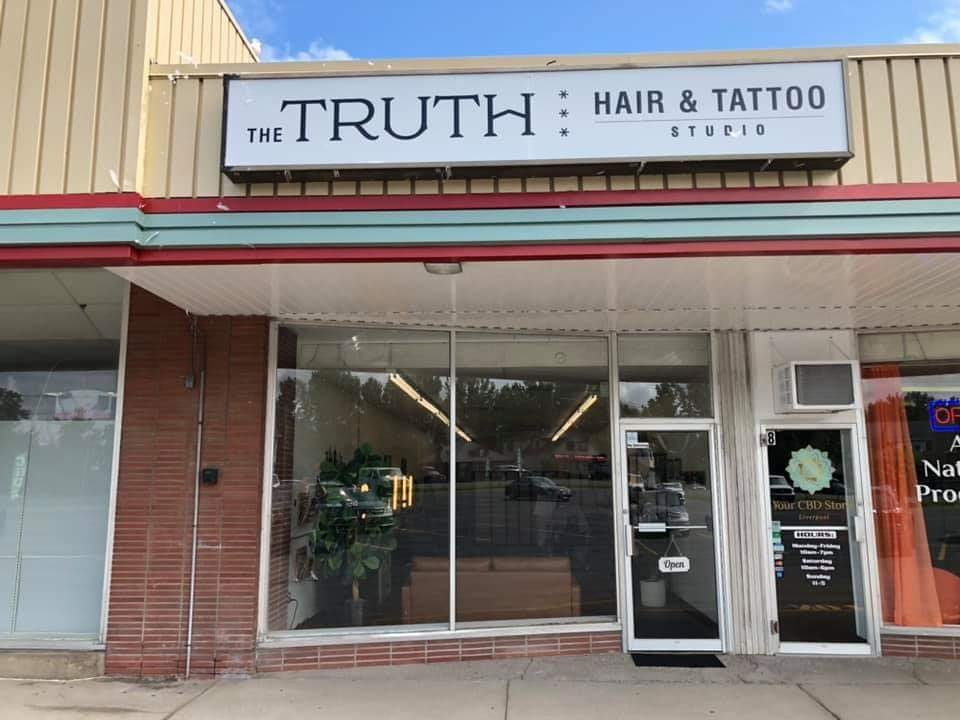 The TRUTH Hair & Tattoo Studio: 678 Old Liverpool Rd, Liverpool, NY