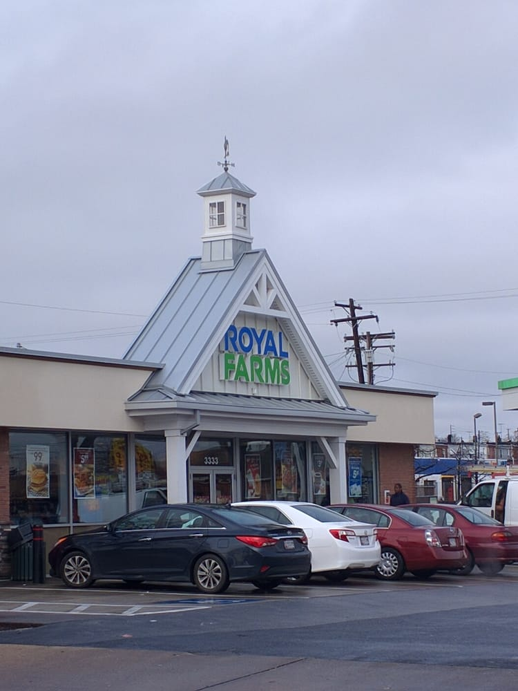 Royal Farms: 3333 E Fayette St, Baltimore, MD