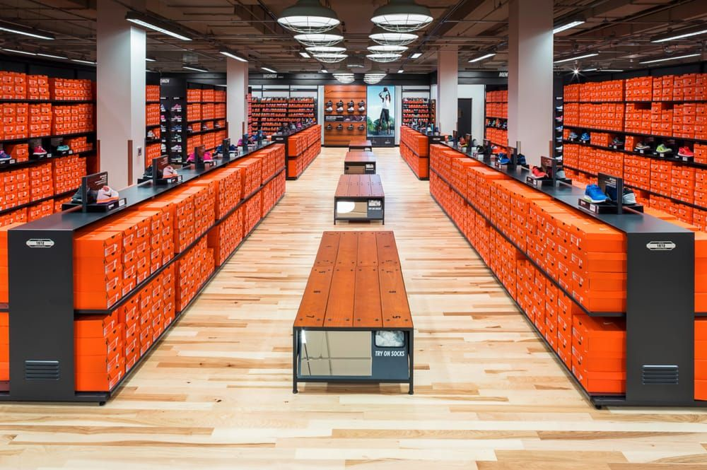 nike factory store shoe stores 20393 n rand rd. Black Bedroom Furniture Sets. Home Design Ideas