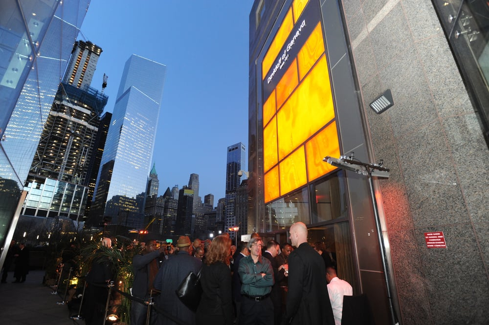 Enjoy a cigar at the foot of the World Trade Center inside
