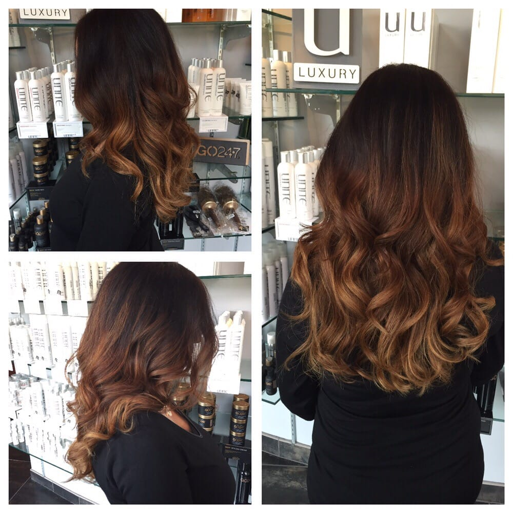 Ombre color by beth d yelp for 921 salon baltimore