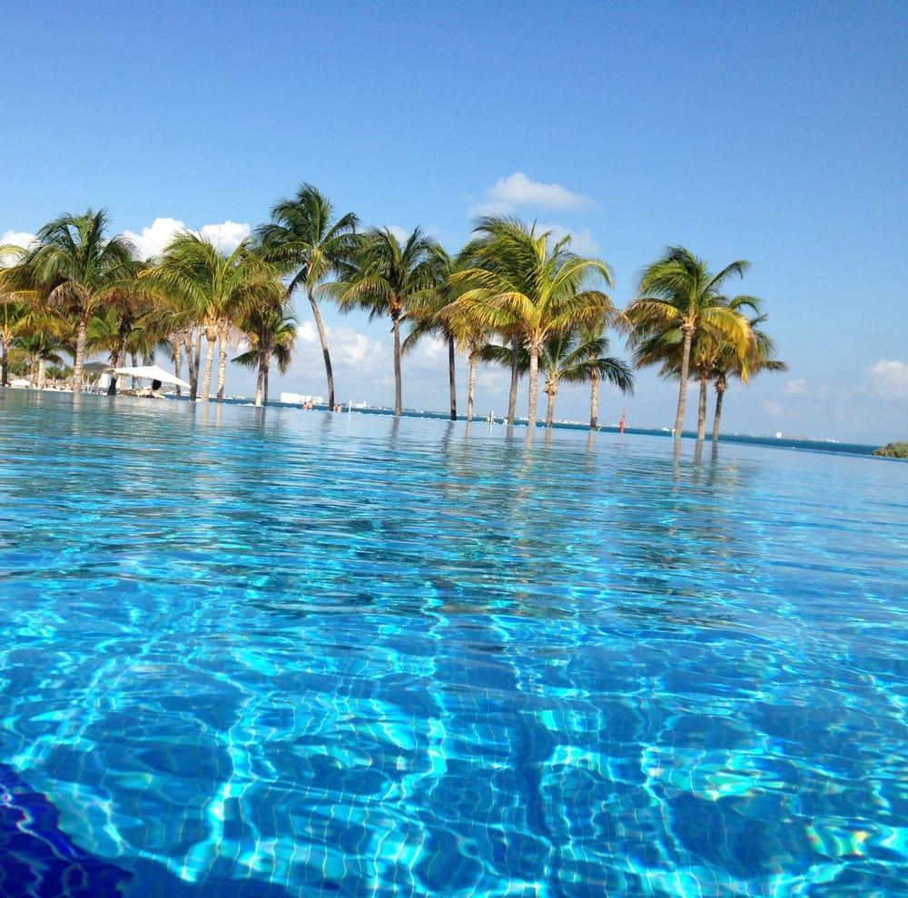 Riu Palace Peninsula Cancun Mexico Infinity Pool Yelp