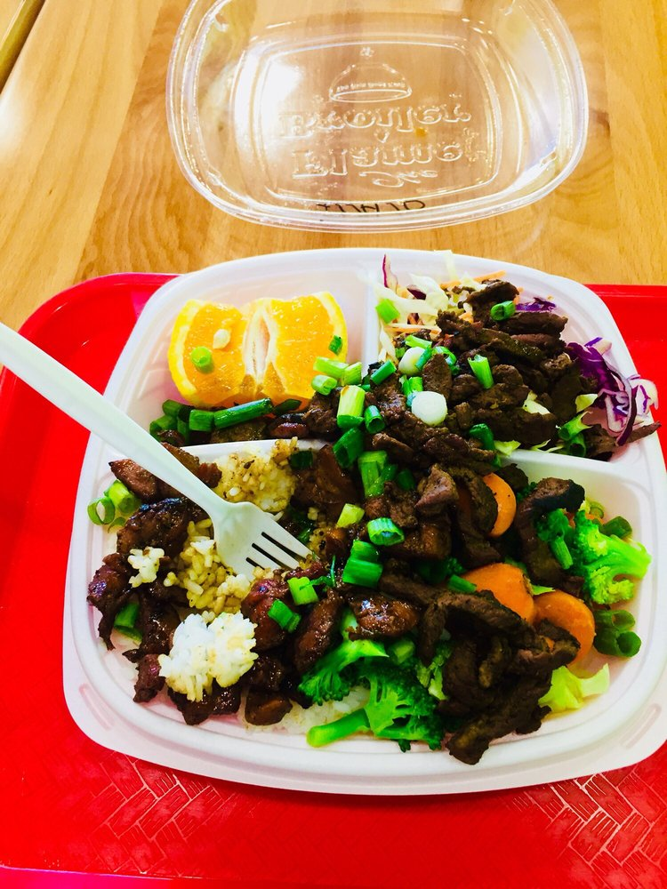 The Flame Broiler: 1342 West Warner Rd, Tempe, AZ