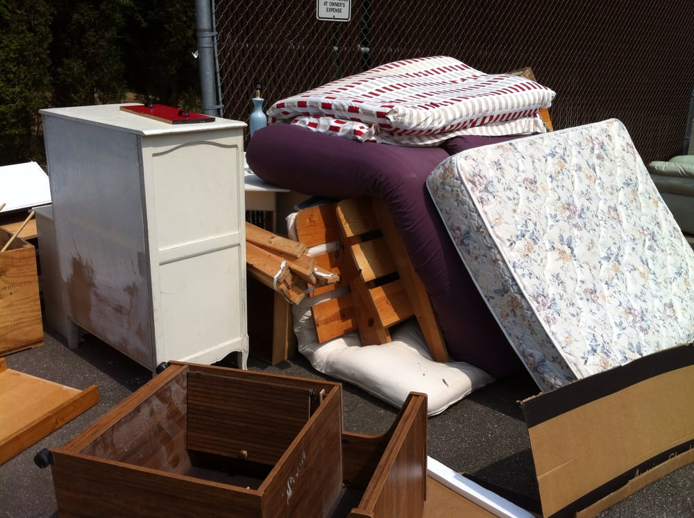Mattress Couch Junk Furniture Disposal Yelp
