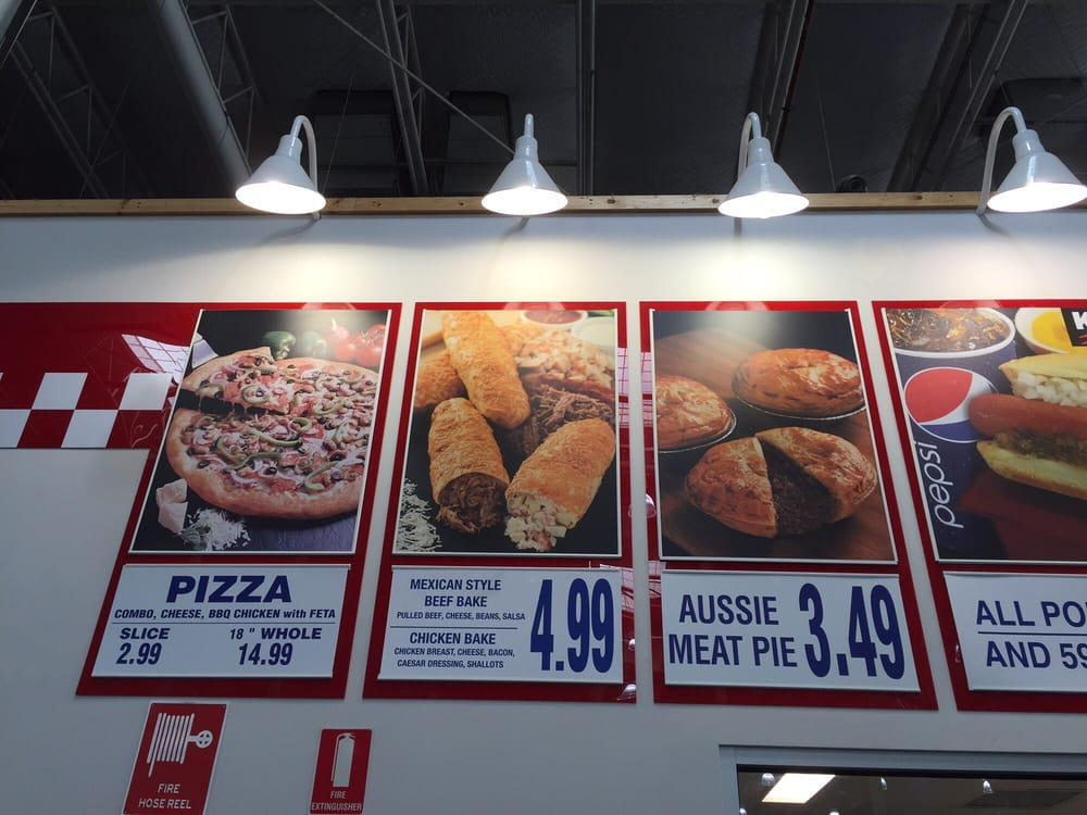 Food Court Menu Similar To USA