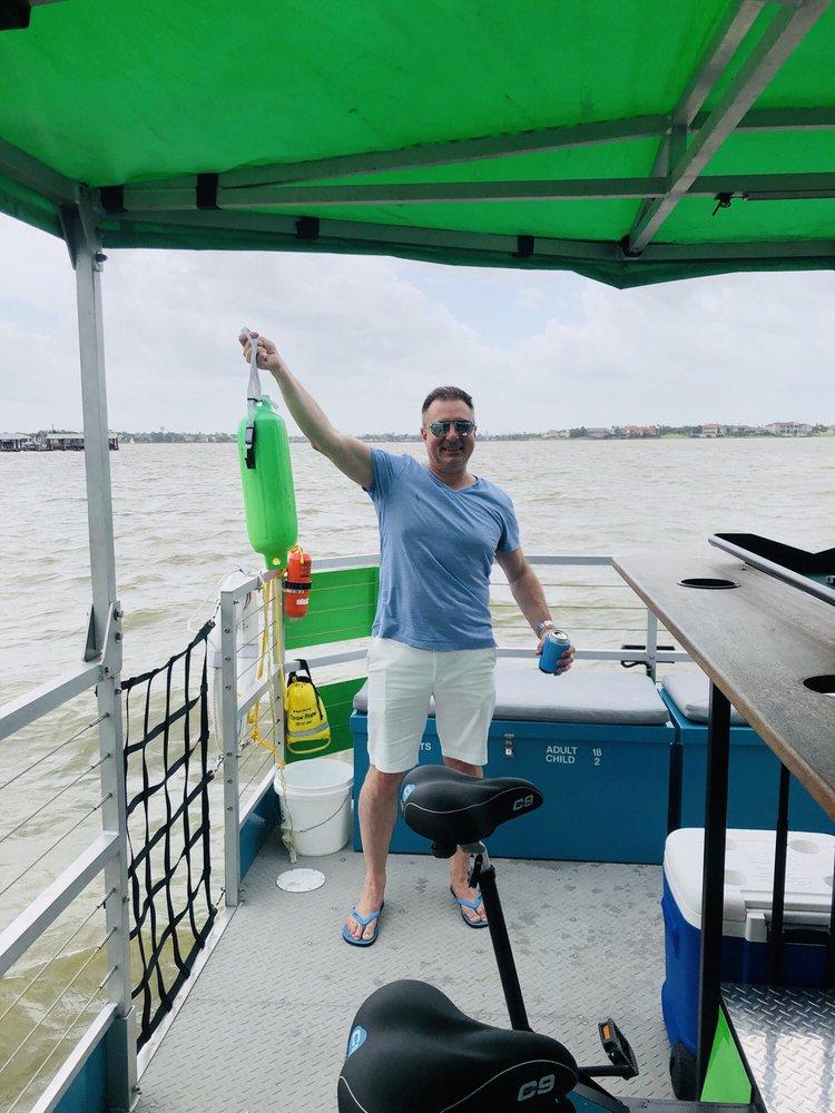Bayou Boone Cycleboats: 2517 Nasa Road 1, Seabrook, TX