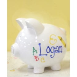 Photo Of My Bambino Ord De United States Personalized Piggy Bank