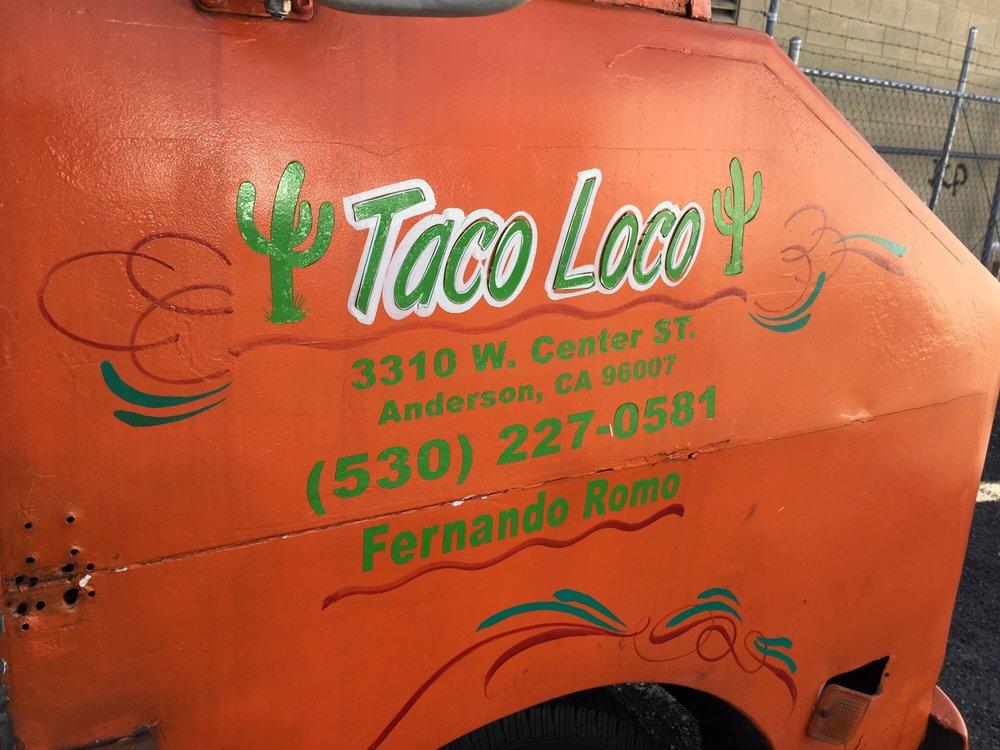Tacos Locos: 3310 W Center St, Anderson, CA