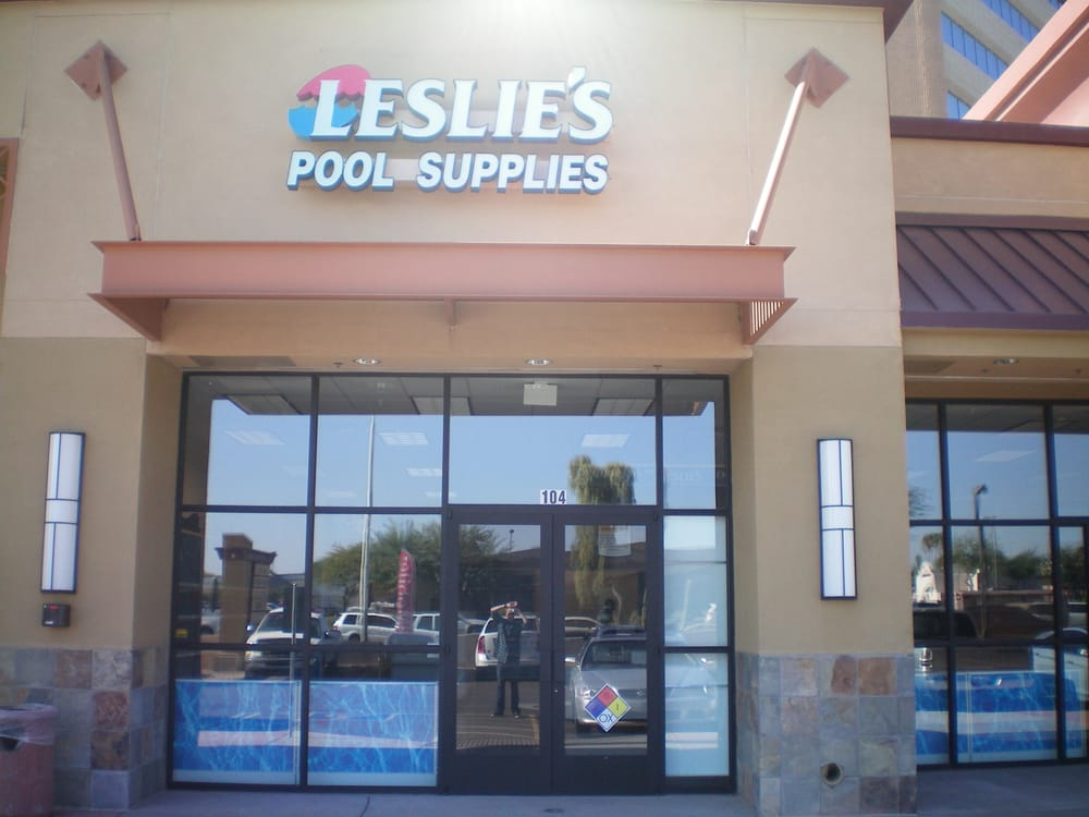 Leslie s swimming pool supplies hot tub pool 2814 n - Swimming pool chemicals suppliers ...