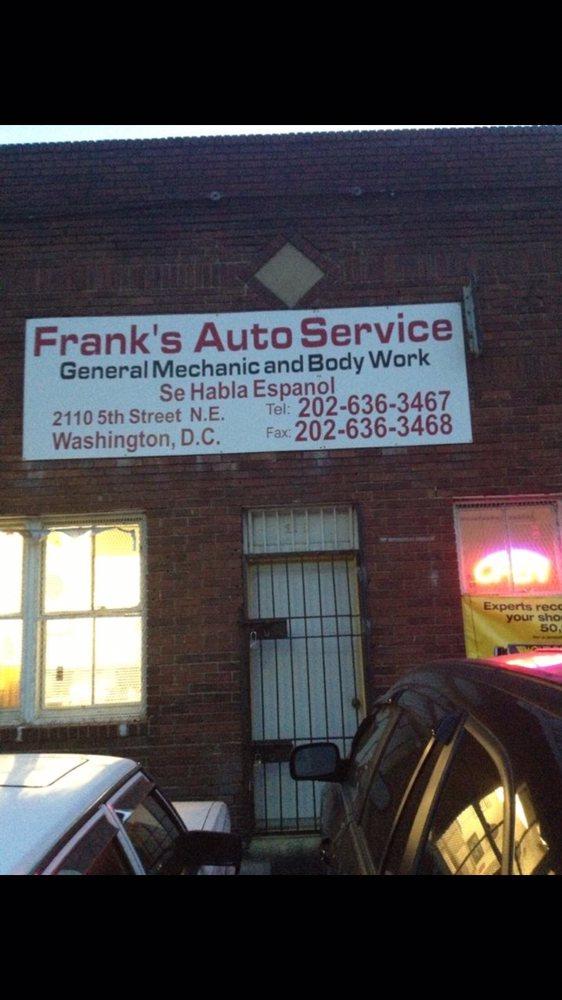 Frank Auto Service: 2110 5th St NE, Washington, DC, DC