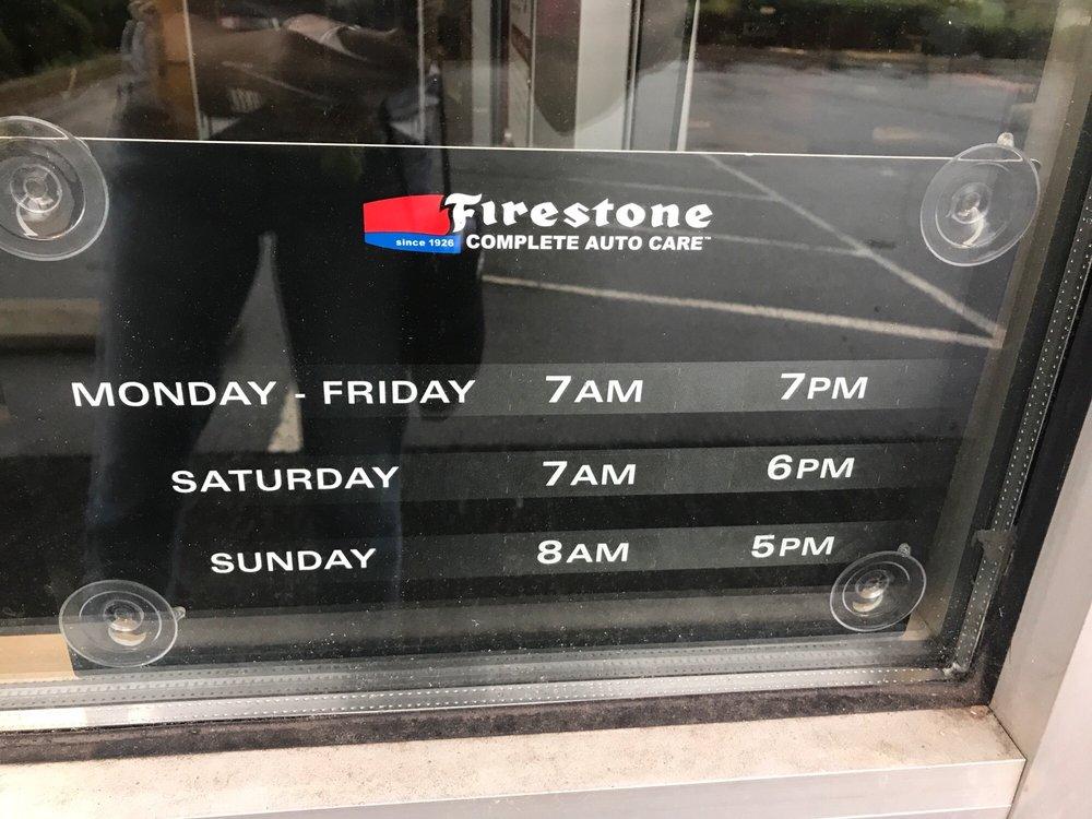 Firestone Hours Sunday >> Firestone Complete Auto Care 301 Williamson Rd Mooresville Nc