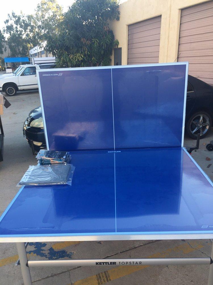Luckyheap Table Tennis: 1280 Lambert Rd, Brea, CA