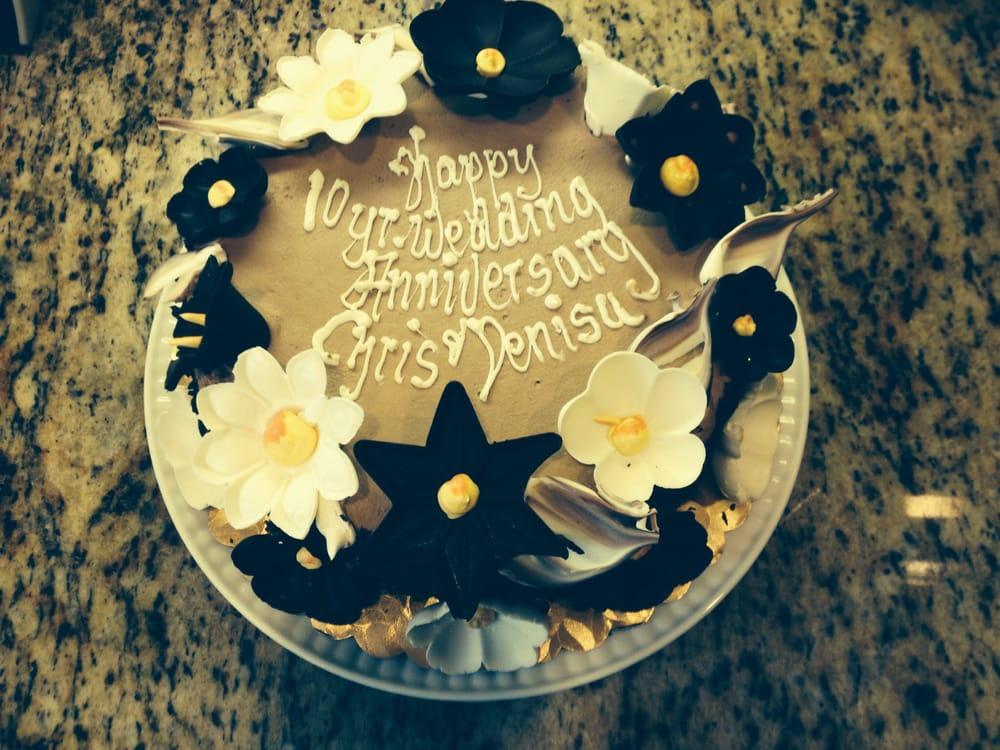 Chocolate Parisian Cake (my 10 year wedding anniversary). It was so ...
