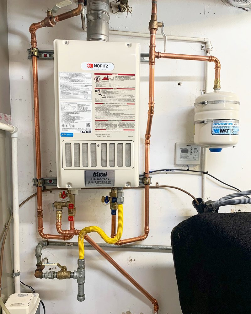 Ideal Plumbing Heating Air & Electrical