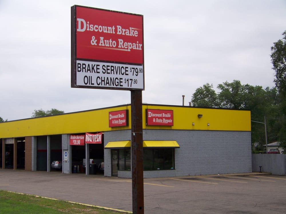 Oil Change Coupons Mn >> Discount Brake & Auto Repair - CLOSED - Auto Repair - 892 Hwy 10, Blaine, MN - Phone Number - Yelp