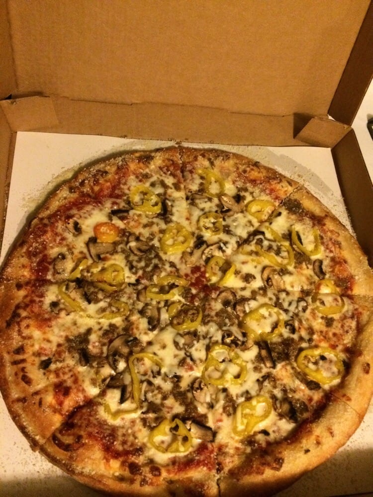 Three Brothers Pizza: 1600 S Hanover St, Hastings, MI