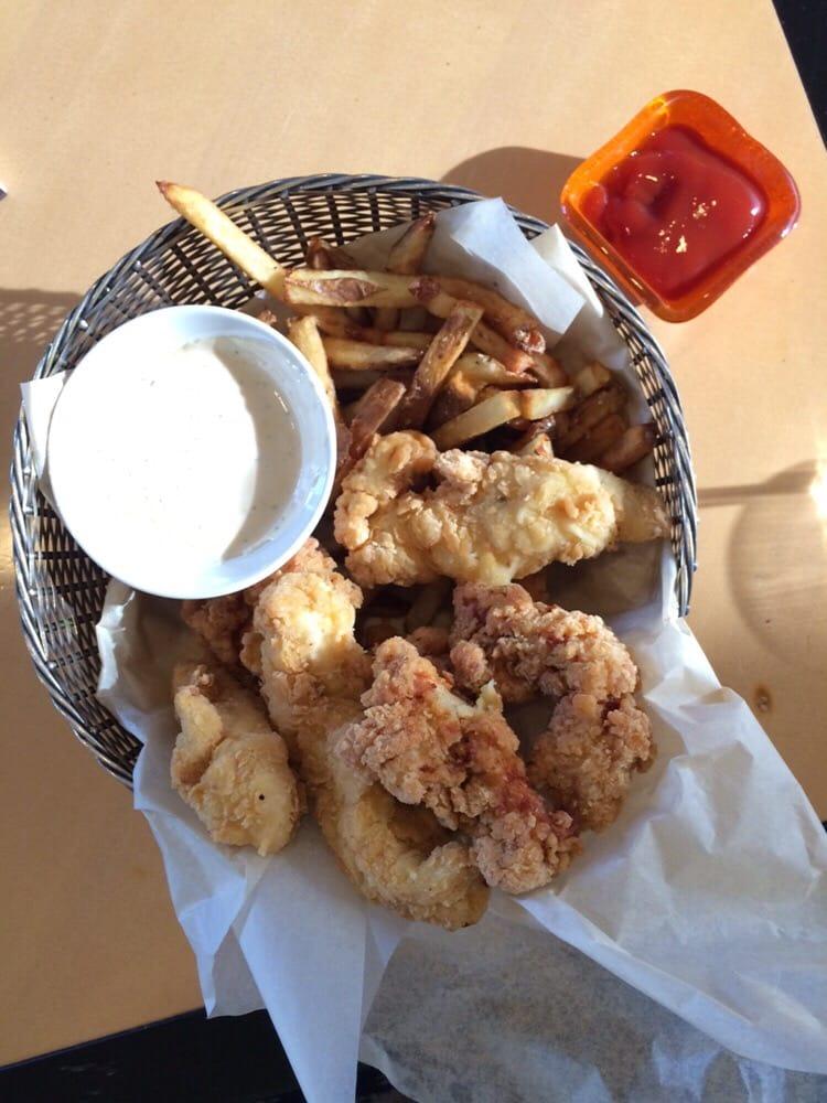 Chicken Strip Basket Off The Bar Menu Yelp