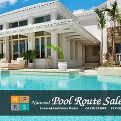 National Pool Route Sales Business Consulting 26479 Rancho