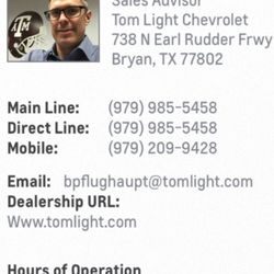 Good Photo Of Tom Light Chevrolet   Bryan, TX, United States Pictures Gallery