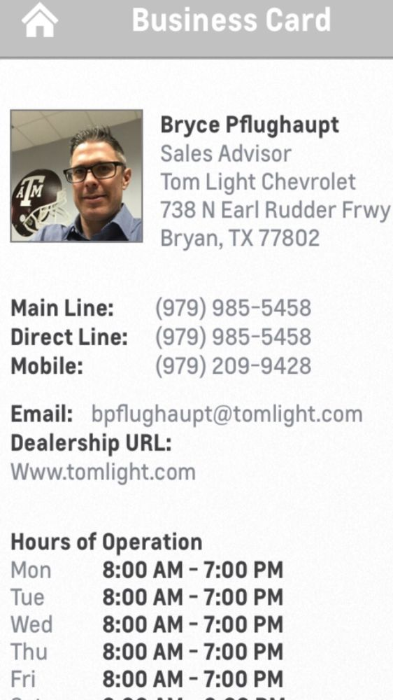 Tom Light Chevrolet   20 Reviews   Auto Repair   738 N Earl Rudder Freeway,  Bryan, TX   Phone Number   Yelp