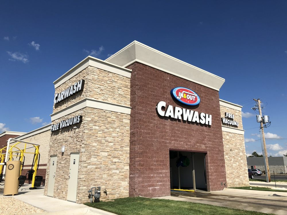 In & Out Carwash: 1001 E 32nd St, Joplin, MO