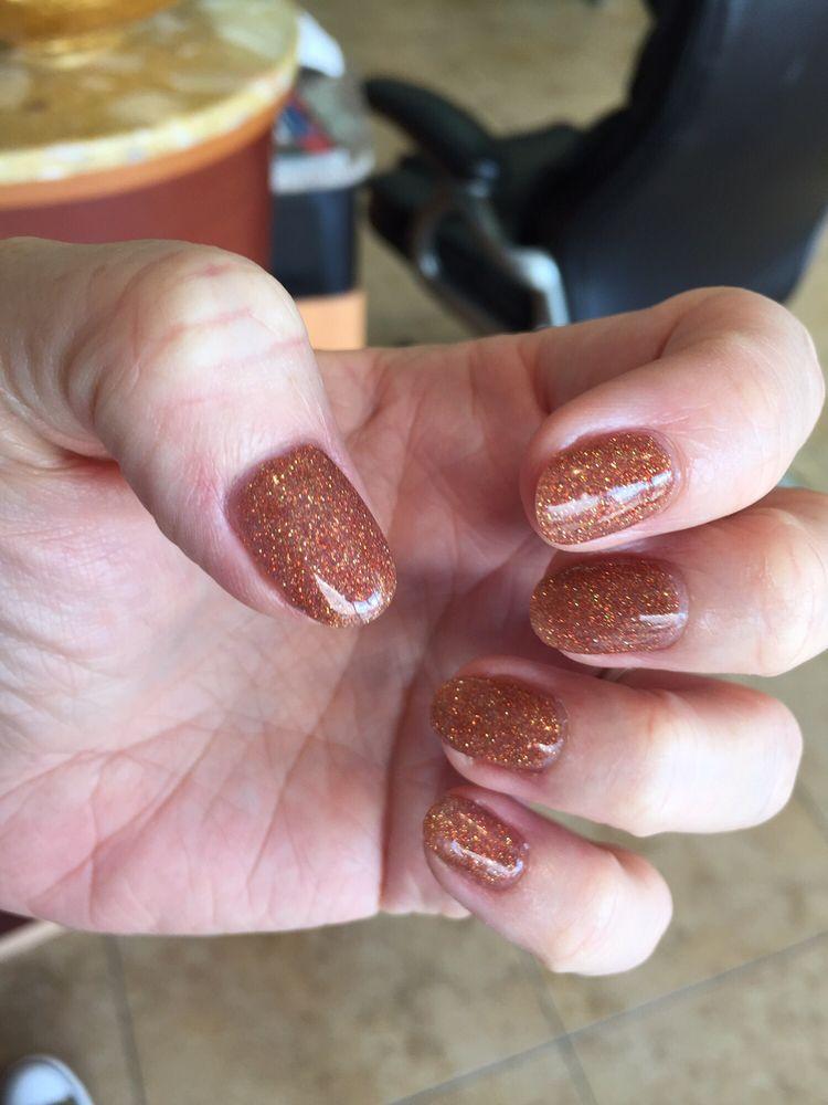 SNS nails! No heat lamp, no chemical smell, goes over natural nails ...