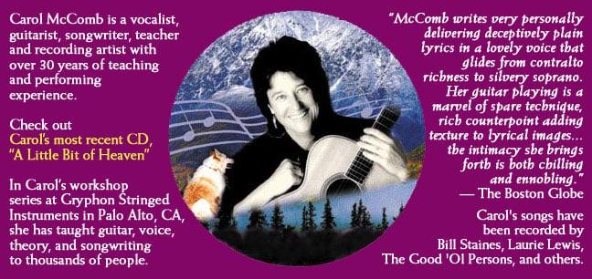Carol McComb Guitar Workshops: 211 Lambert Ave, Palo Alto, CA